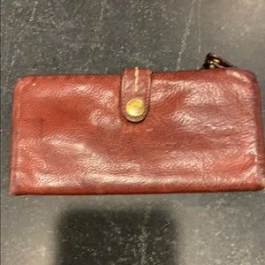 Frye leather wallet